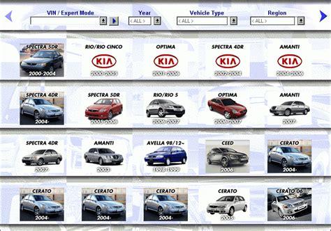 Kia Catalog Kia Mcat All Spare Parts Catalog Cars Catalogues
