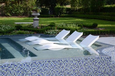 swimming pool chaise lounge a wet and wild summer contemporary outdoor chaise