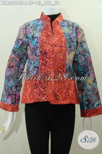 desain baju batik bagus balero batik seragam kerja modis desain bolak balik