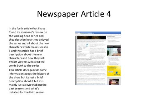 new year article in summary of the 5 newspaper articles i found for the