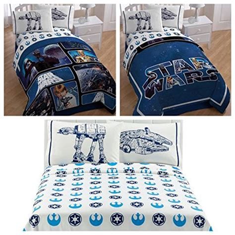 star wars full comforter star wars saga classic reversible full size bedding set
