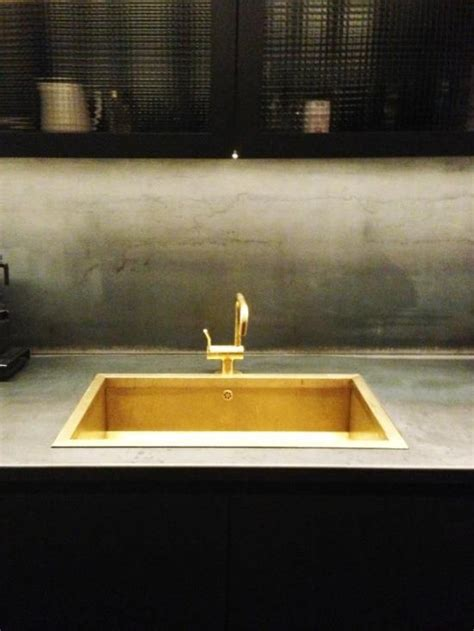 gold kitchen sink brass kitchen sink my living space
