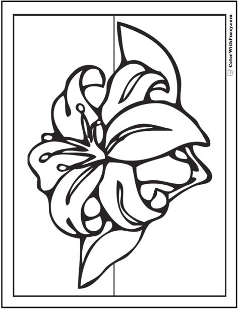 calla lily coloring pages www imgkid com the image kid