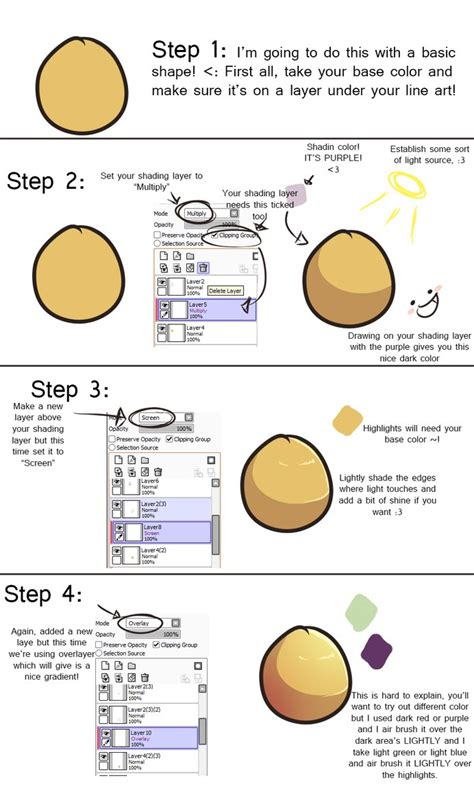 how i shade in paint tool sai tutorial by zafts prince on deviantart