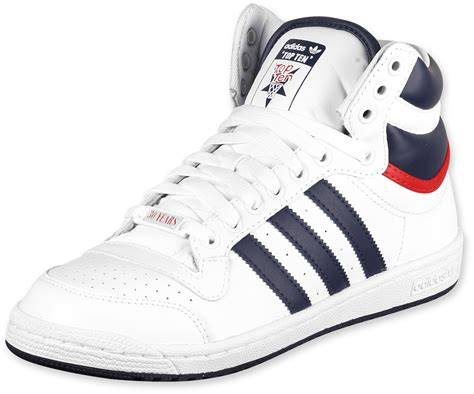 Top 10 Shoes For by Adidas Top Ten Hi Shoes Runwhite Nny