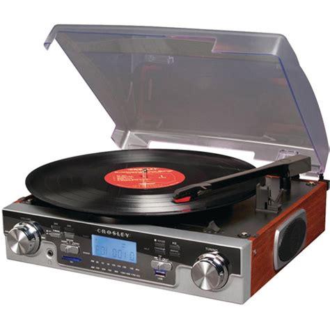 Radio Player St Q 25 crosley radio tech usb turntable in mahogany walmart