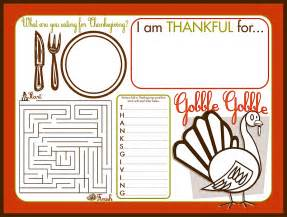 free printable thanksgiving placemats whatever dee dee wants she s gonna get it give thanks