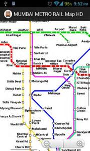 Mumbai Metro Map by Mumbai Metro Rail Map Hd Download Mumbai Metro Rail Map