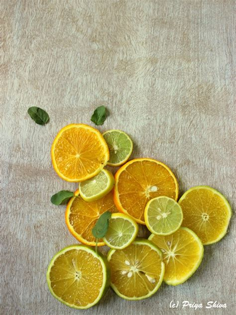 Citrus Splash iced green tea citrus detox drink