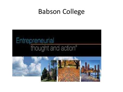 Babson Two Year Mba by Babson College