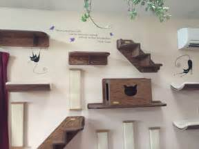cat wall shelves climbing just in customer photos of cat themed wall decals