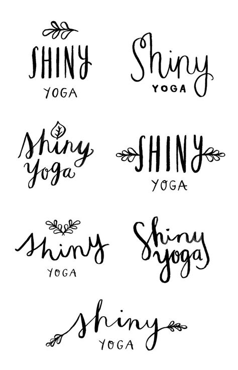 yoga tattoo fonts best 25 logo ideas on yogi lotus