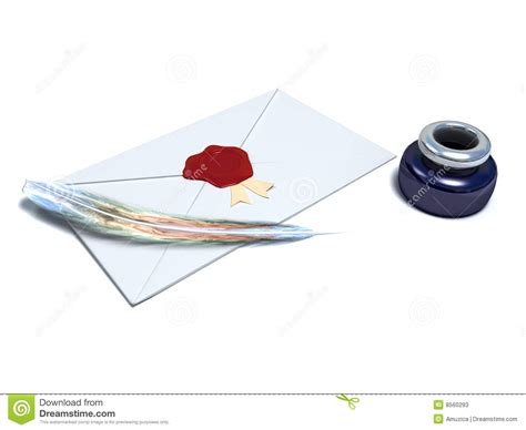Toner Rossa busta sigillata con la cera rossa fotografie stock