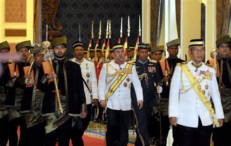 pertuan agong sultan muhammad  istiadat