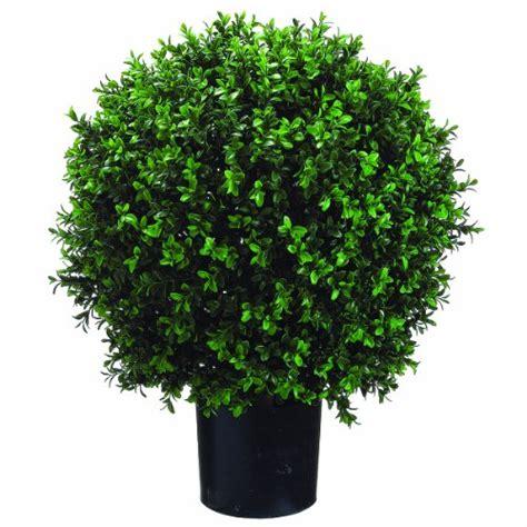 Where To Buy Home Decor Silk Decor Ball Shape Boxwood Topiary 26 Inch Green
