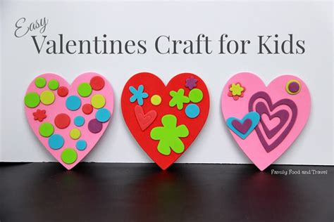 easy valentines for easy valentines craft for family food and travel