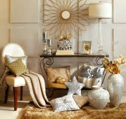 Design Accessories by Using Metallics In Traditional Interior Design The