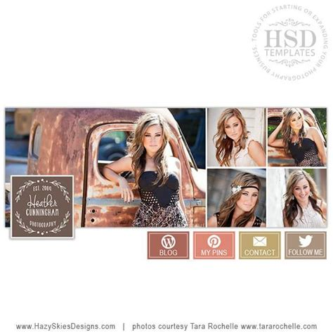 free cover photo templates for photographers cover template earth tones