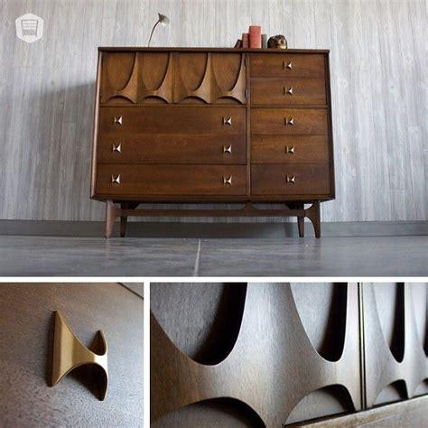 Mid Century Modern Broyhill Brasilia Dresser Hutch Has Modern Furniture Omaha