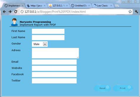 membuat website dengan ci membuat file pdf dengan fpdf nuryanto