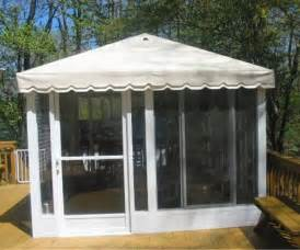 free standing ontario screen room kits square and rectangular screened patio enclosures canada