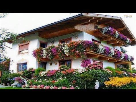 house  flower   beautiful house   world