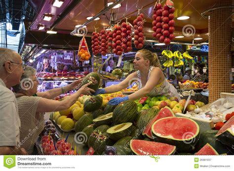 St Joes Food Marketing Mba by St Joseph Food Market Barcelona Spain Editorial