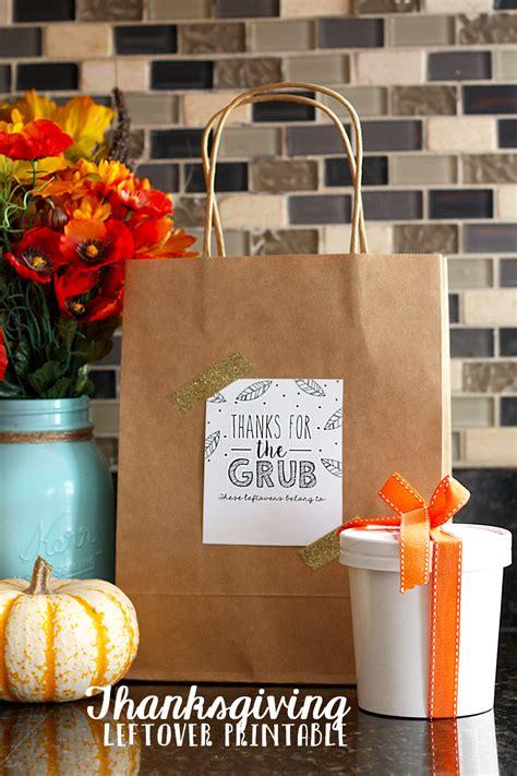 thanksgiving leftovers printable eighteen bloglovin