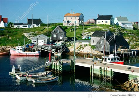 Boat Barn Plans Picture Of Nova Scotia Fishing Village
