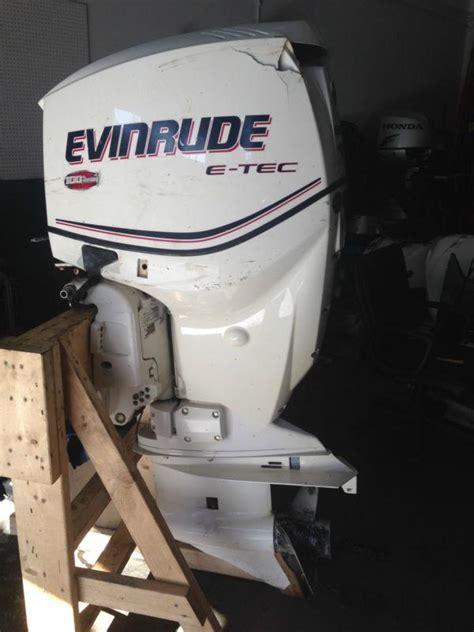 boat motors 150 hp sell 2009 evinrude etec 150 hp outboard boat motor 2