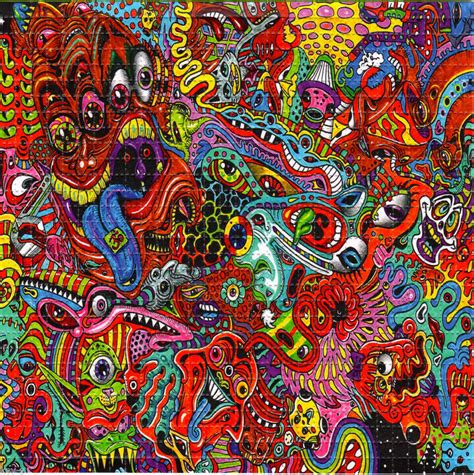 9 Drawings On Acid by The Factory 2 Acid Psychedelic And