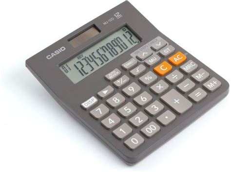 Casio Calculator Mj 12d calculators kagdi stationers