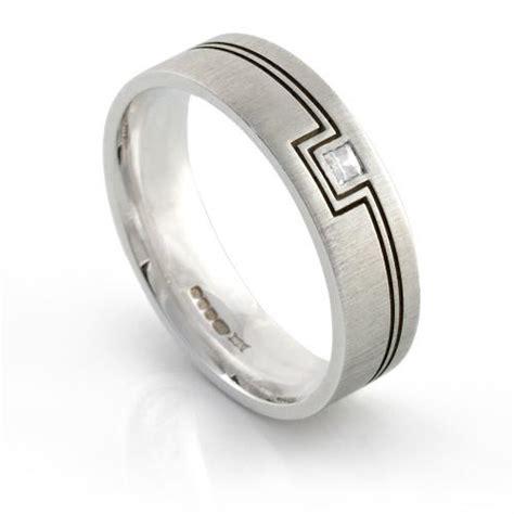 geometric pattern ring geometric rings i do wedding rings