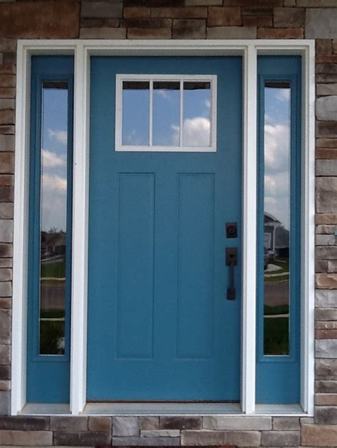blue front door colors front door color