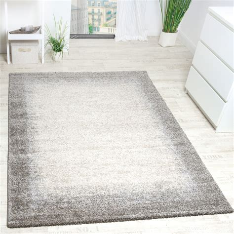 Teppich Wohnzimmer Beige by Woven Carpet Modern High Quality Mottled With Border In