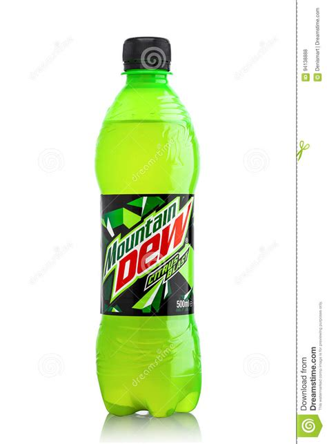 A Drink In A Bottle And Flvored 1 Hour Detox by Uk June 9 2017 Bottle Of Mountain Dew Drink On