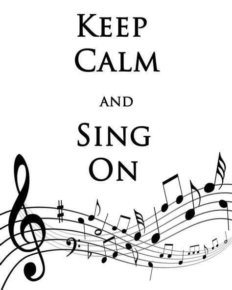 printable quotes about music debbie does creations keep calm and sing on free