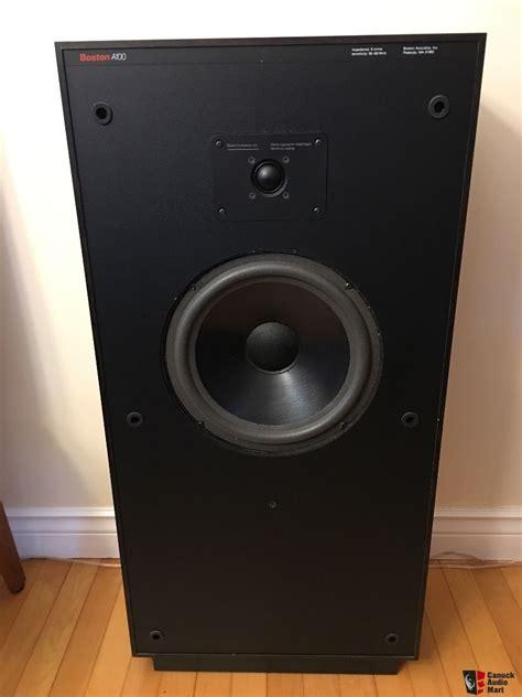 Speaker Subwoofer Boston boston acoustics a100 speakers photo 1551744 canuck audio mart