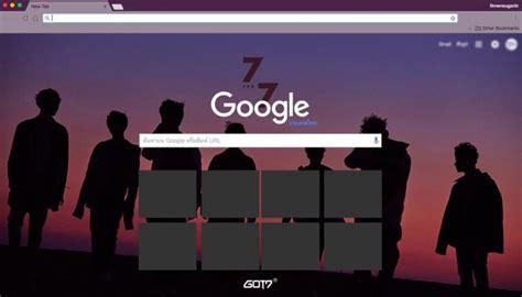 theme google chrome got7 got7 the 7th mini album 7for7 chrome theme themebeta