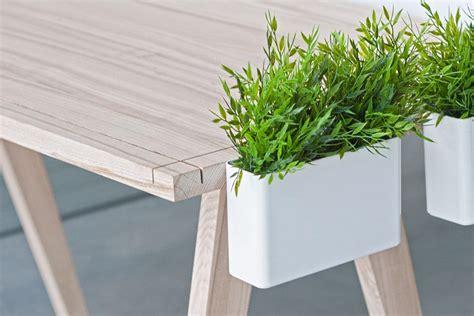 plant on desk worknest modular desk by wiktoria lenart homeli