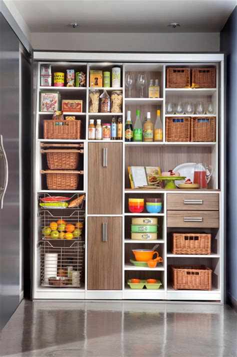 kitchen closet organizer modern kitchen