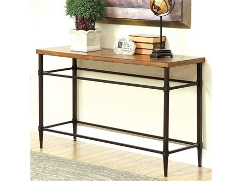 sofa table light oak herrick light oak sofa table shop for affordable home