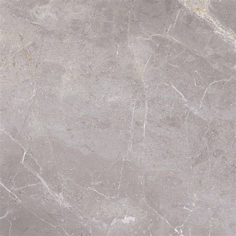 grey marble effect gloss porcelain floor tile