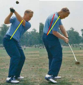 extension in the golf swing early extension fitter golfers