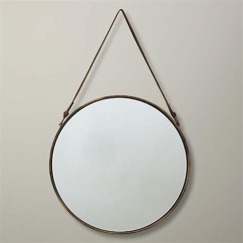brass mirror assorted shapes by idyll home buy john lewis round hanging mirror matt brass dia 38cm