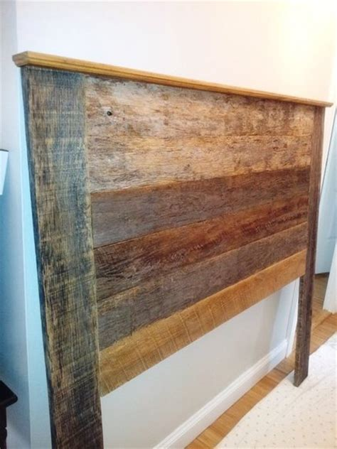 barn siding headboard reclaimed barn wood beds headboards platform beds