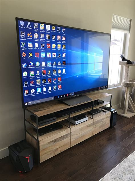 living room gaming pc pc gaming living room tv living room