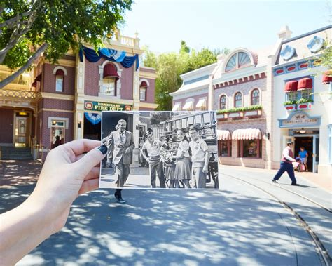 Celebrate Disneyland's Anniversary With These Amazing Then and Now Photos   Oh My Disney