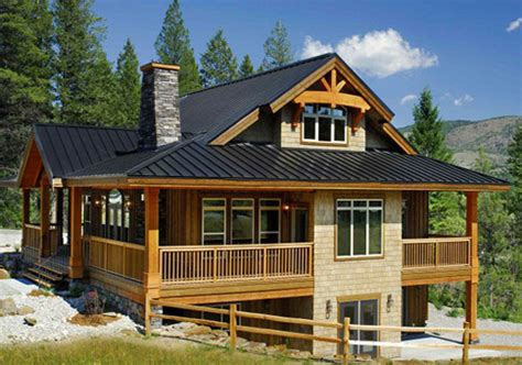 Small Post And Beam Homes House Plans Osprey 1 Linwood Custom Homes