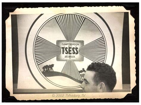 test pattern history jim weinberg collection usa